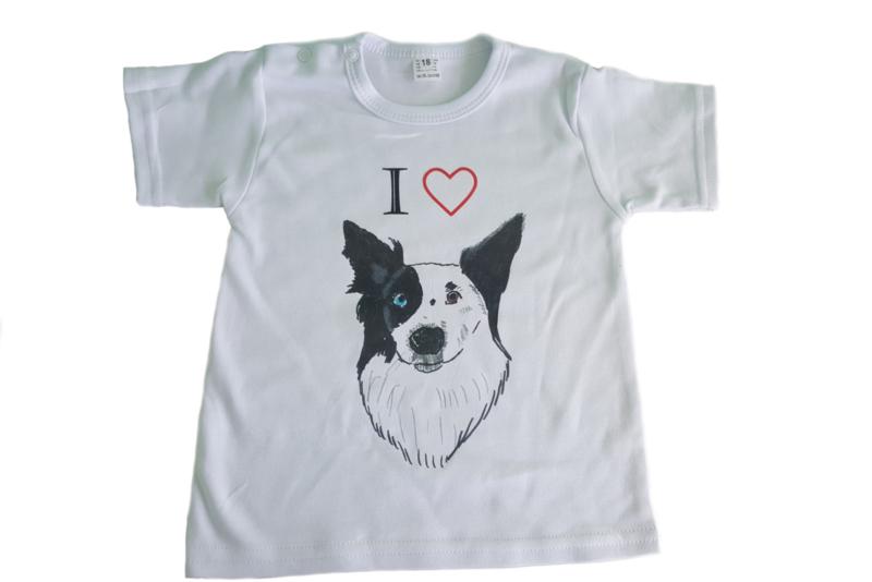 Shirtje Ik hartje mijn huisdier