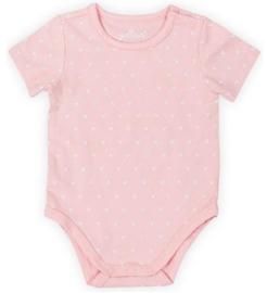 Romper Hearts Soft Pink maat 74/80