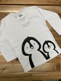 Shirt Pinguïn maat 92
