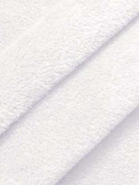 Witte Fleecedeken samenstellen