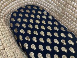 Hoeslaken wieg | Navy Leeuwtjes