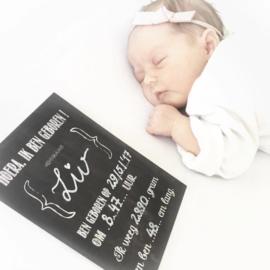 Babygroeikaarten