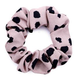 Scrunchie Dots Taupe