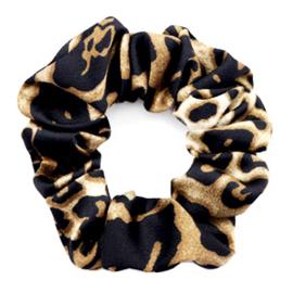 Scrunchie Leopard Print