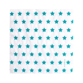 Servetten Blue Stars
