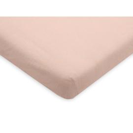 Jollein Hoeslaken Jersey Boxmatras 75x95cm Pale Pink