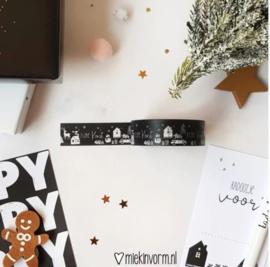 Masking Tape Kerst