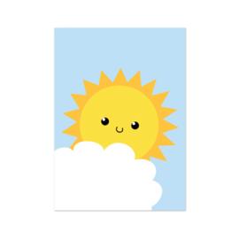 Kaart Zon en Wolk