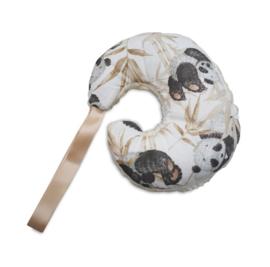 Speendoek Maan Panda Teddy