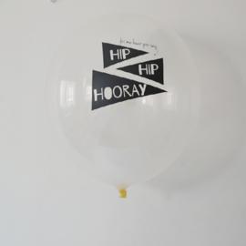 Ballonnen Hip hip hooray
