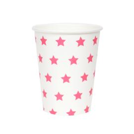 Beker Pink Stars