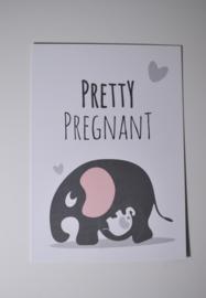 Kaart Pretty Pregnant