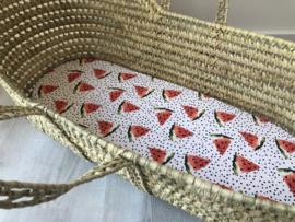 Hoeslaken wieg | Watermeloen