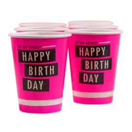 Beker Neon Birthday