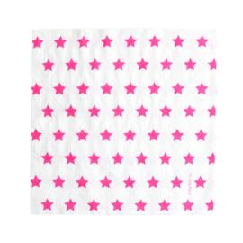 Servetten Pink Stars