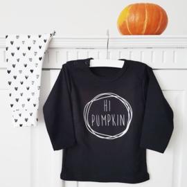 T-shirt Pumpkin Zwart