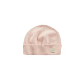 Jollein muts Pretty Knit Blush Pink 0-6 maanden