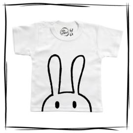 T-shirt lange mouw   Konijn