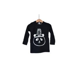 T-shirt lange mouw | Panda