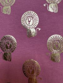 Aankleedkussenhoes Roze Leeuwtjes