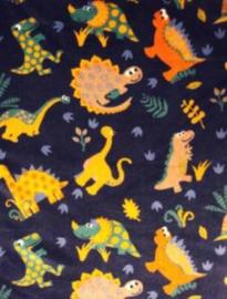 Dino fleecedeken samenstellen