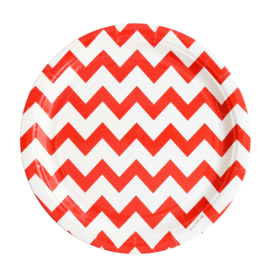 Bord Red Chevron