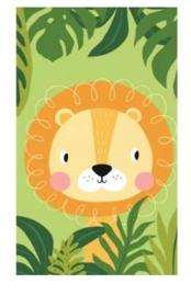 Handdoekje Leeuw