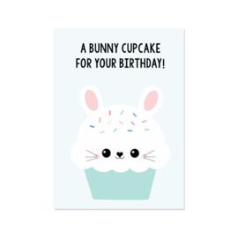 Kaart Funny Bunny