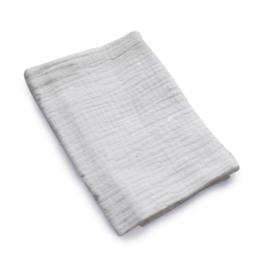 Monddoekje Hydrofiel Wit Silver Foil