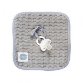 Speendoek waffle grey