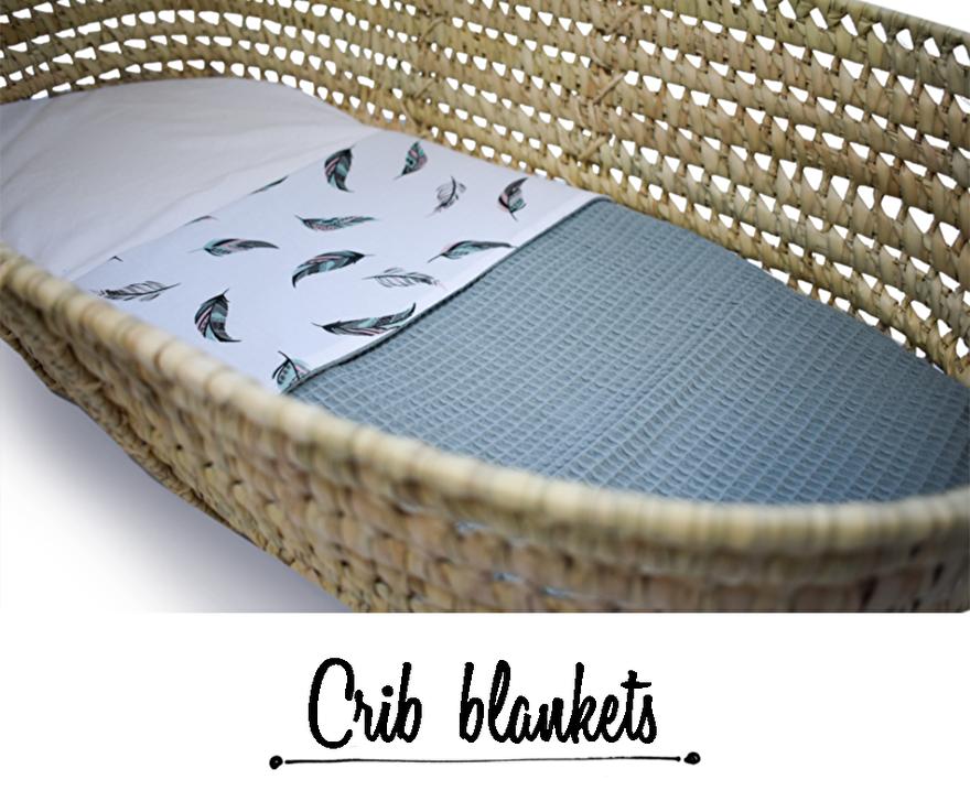 Crib blankets
