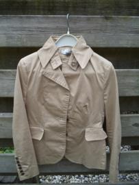 Mooi beige glanzend jasje/colbert van Yaya maat 40