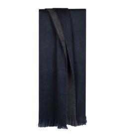sjaal fabian doble van Bufanda in de kleur indigo blue