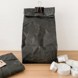 Paperbox,  zwart, 17x17x35cm  hoog