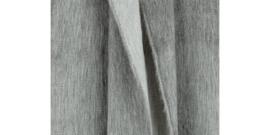 sjaal fabian doble van Bufandy in de kleur silver fog