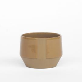 Bakkie koffiemok in de kleur zandbruin