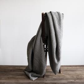Plaid Miro van Tell Me More, Dove grijs, 180 x 260