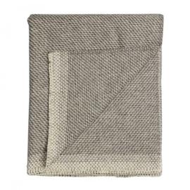 Plaid Una, grijs, 150 x 200