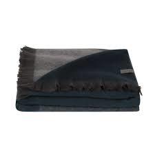 sjaal fabian ombre van bufandy in de kleur slate blue