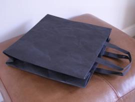Siwa paperbag, square met kort handvat