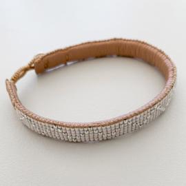 Armband Zigzag van Ibu Jeweld, wit