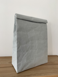 Clutch bag van Siwa, large, licht grijs