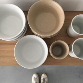Diner/breakfast bowl van Studio Ro-Smit, kleur wit