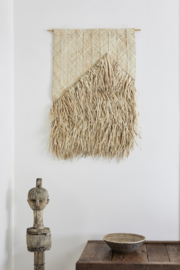 Wall hanging 'amua palm leaf', The Dharma Door