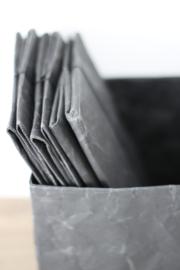 Paperbox wide, zwart, maat S.