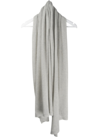 sjaal cosy cotton light van sjaal mania in kleur pearl grey