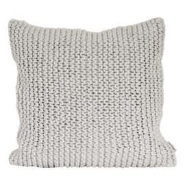 Rope cushion cover in offwhite, 50x50cm