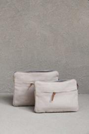 laptop/tablet bag van The Dharma Door, kleur Bone, maat S