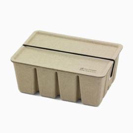 Midori pulp toolbox, verkrijgbaar in wit, beige en grijs