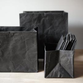 Paperbox wide maat M, zwart